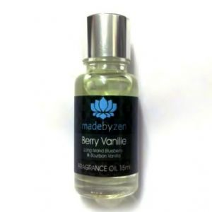 BERRY VANILLE Vanilla - Signature Scented Fragrance Oil Made By Zen 15ml